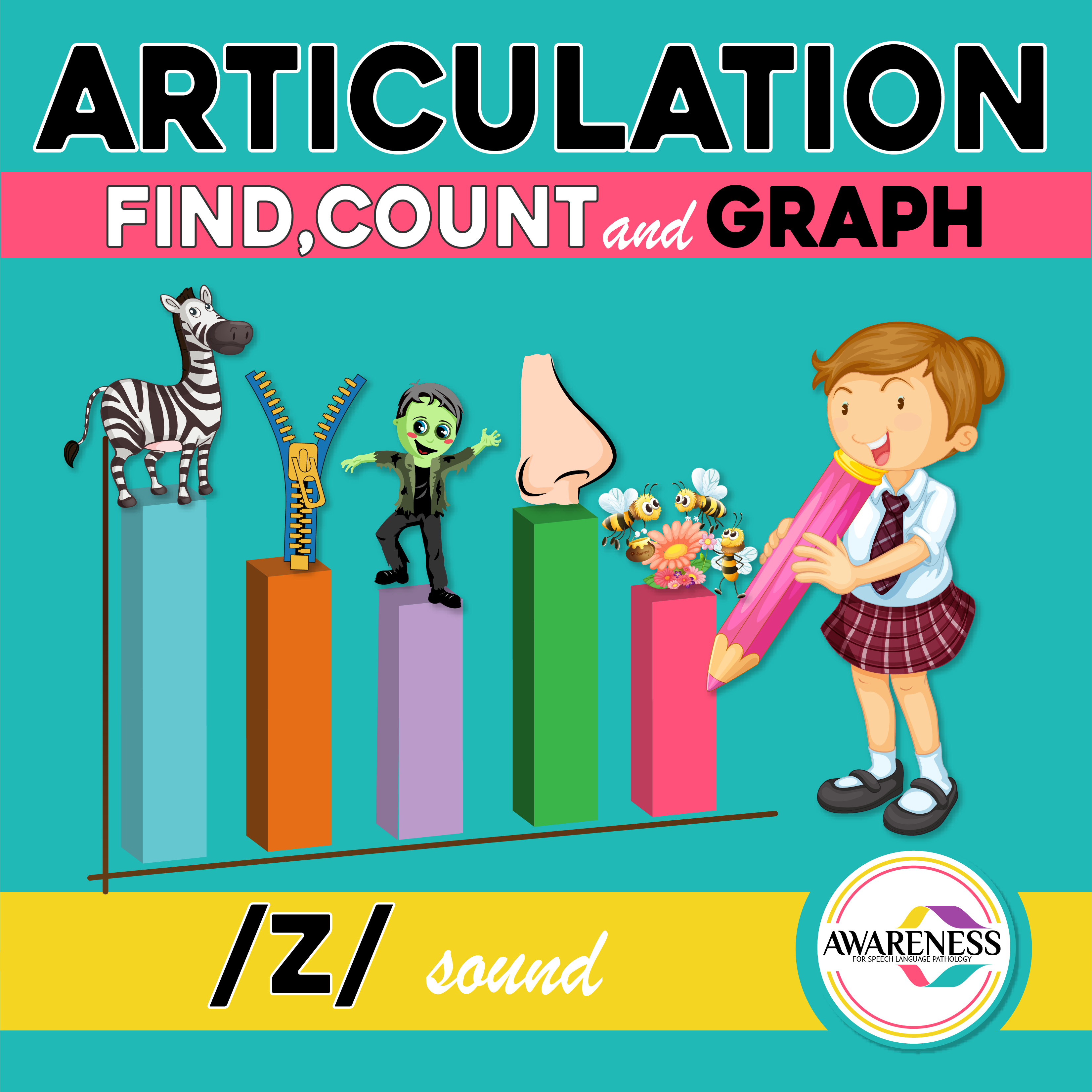 Z Articulation Activity Worksheets For Speech Therapy