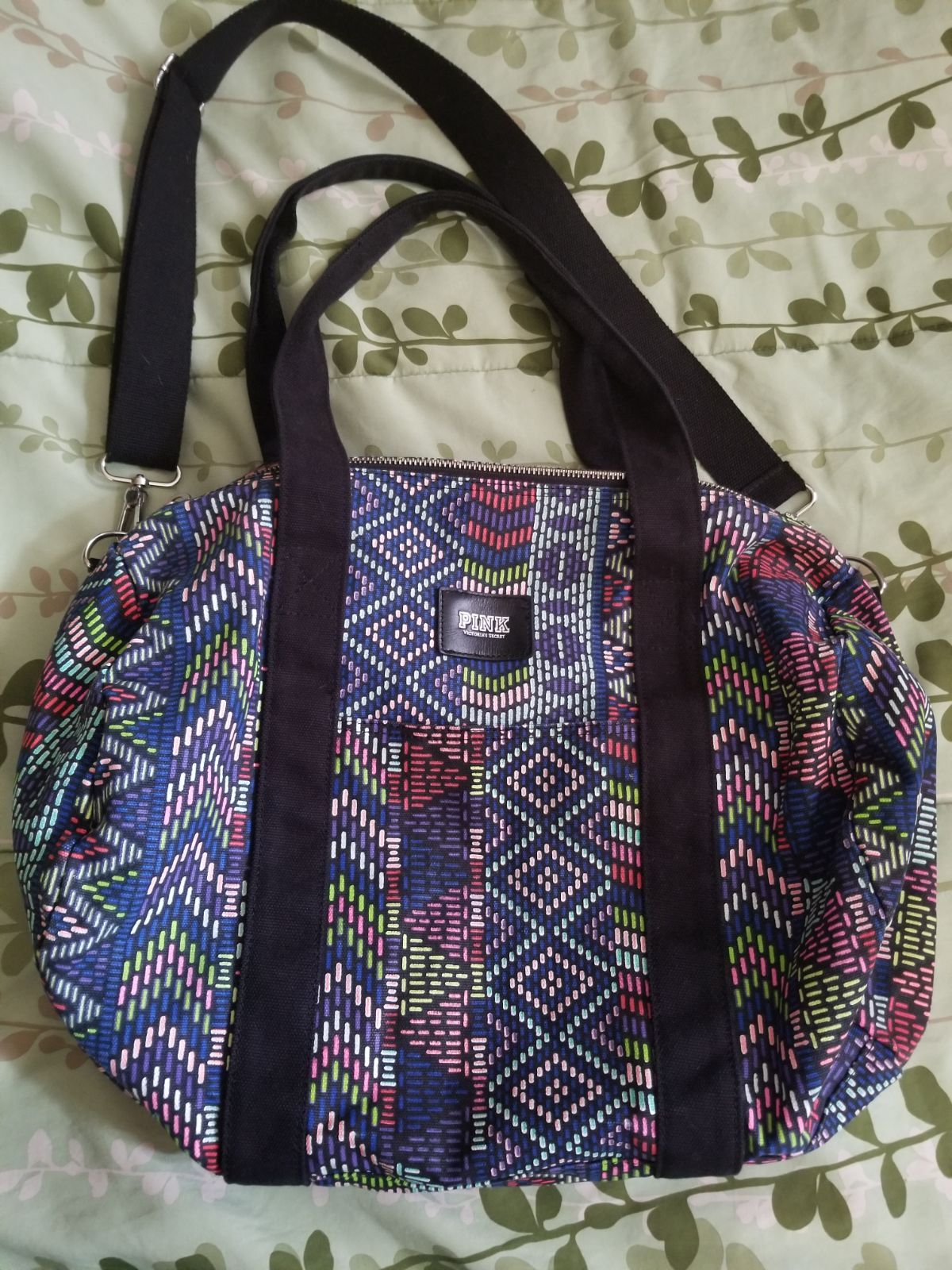 Victoria S Secret Pink Aztec Duffle Bag Hard To Find