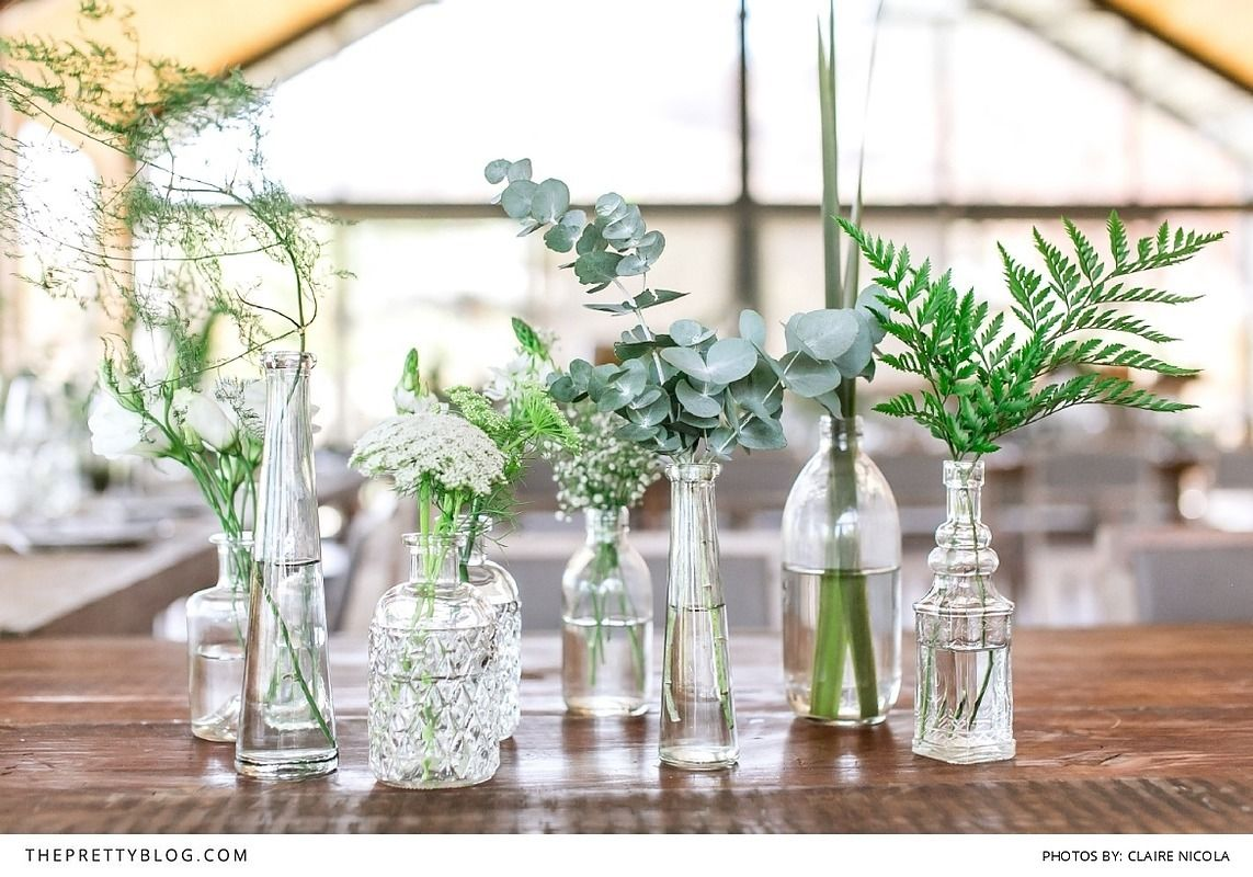 Celebrating her love of botany with a green wedding at old - Skandinavisches design deko ...