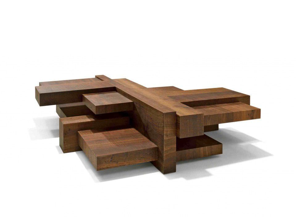 Original Design Wooden Coffee Table Manhattan By Roderick Vos Linteloo There Are No Design Rules For Coffee Table Coffee Table Design Wooden Coffee Table
