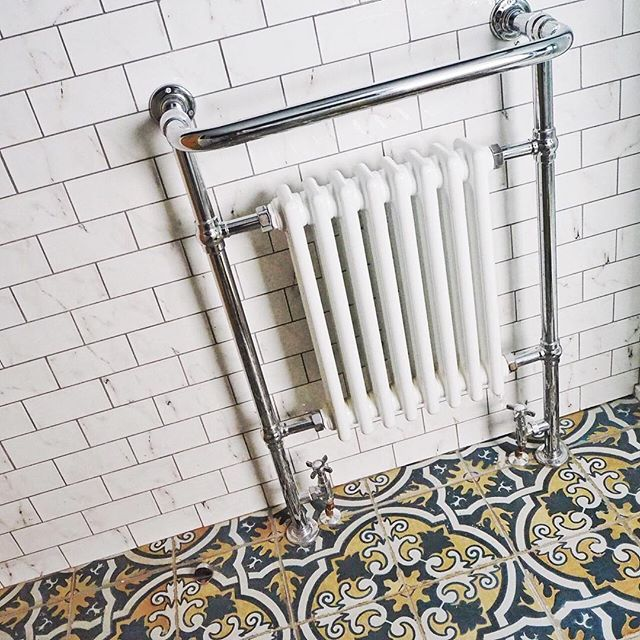 On the blog today: total tile envy in @enbrogue's loft conversion www.the-frugality.com #tileporn #interiorsenvy