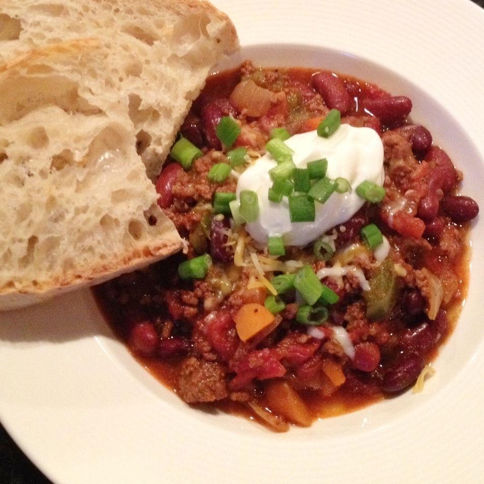 Chili con carne uit de slowcooker @ http://allrecipes.nl