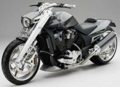 Honda Concept 1 Concept Motorbikes Honda Motorbikes Cruiser