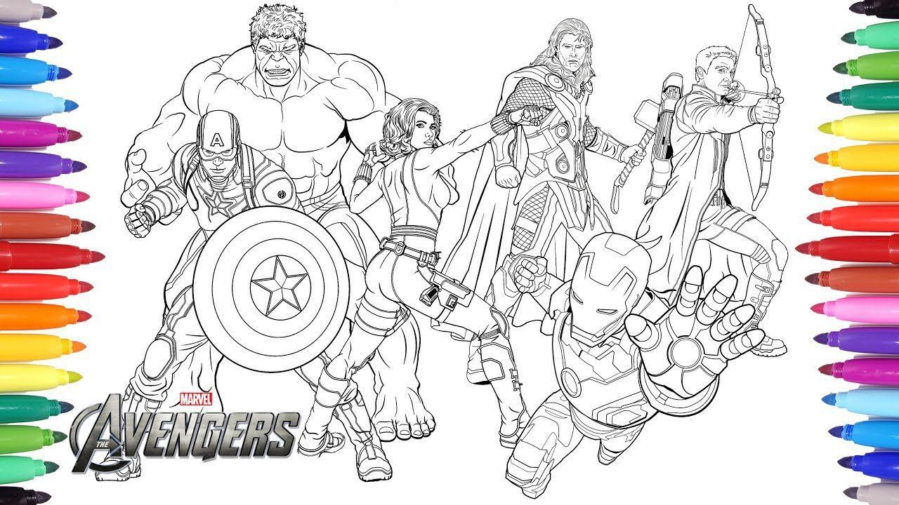 Ironman Vs Captain America Coloring Pages Halaman Mewarnai Buku Mewarnai Avengers