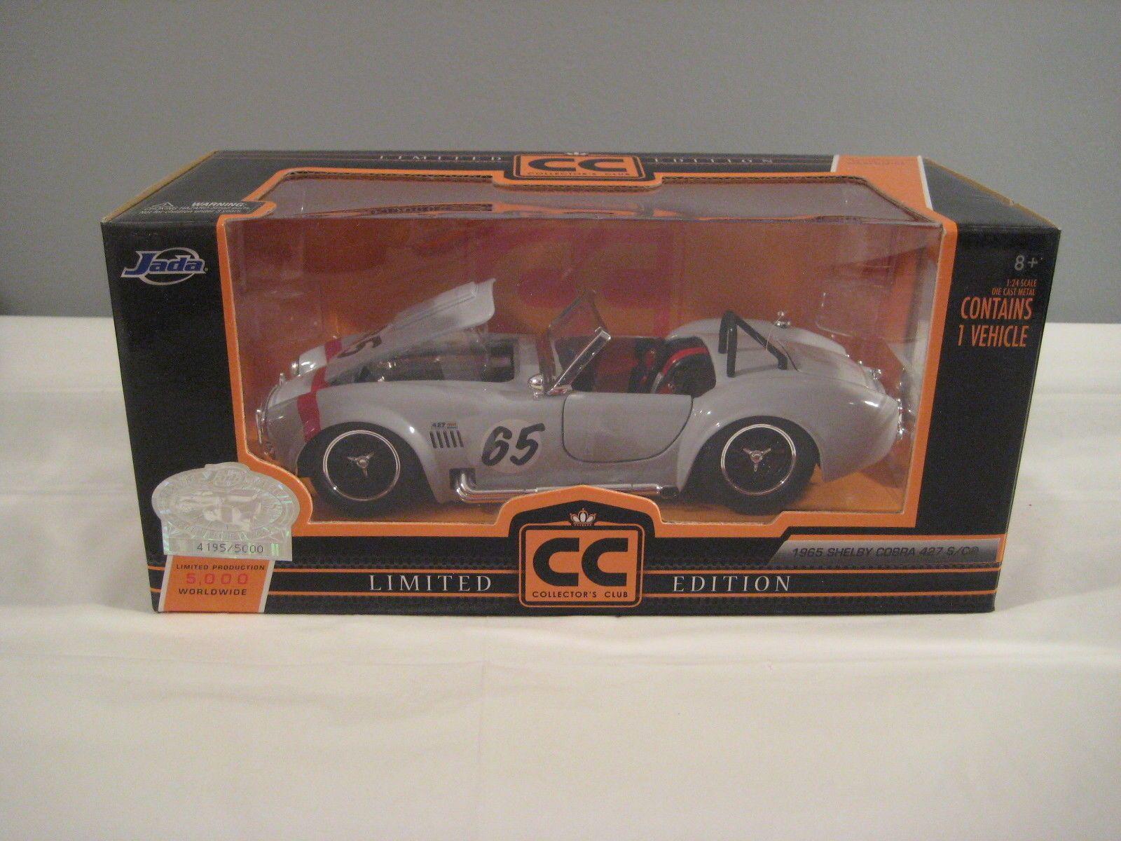 Jada car toys  New Jada Toys Limited Edition Collectorus Club  Shelby Cobra