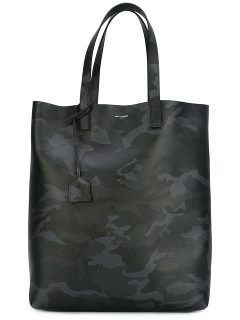db007fc914e50 SAINT LAURENT camouflage print shopping tote.  saintlaurent  bags  leather   hand bags  tote