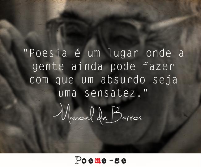 #ManoelDeBarros nosso eterno menino das palavras desimportantes ;( #Poemese #LeiaPoesia