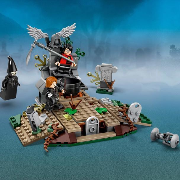 There S Magic Adventure And Action With Lego Harry Potter 75965 The Rise Of Voldemort In This Iconic Scene From H Lego Harry Potter Voldemort Harry Potter