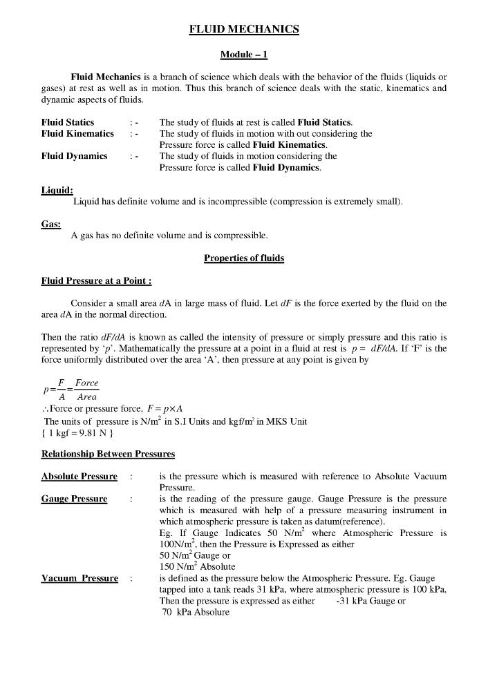 Fluid Mechanics Notes Pdf |authorSTREAM | mud rheology images