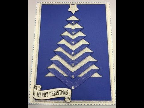 Christmas Tree Card Free Template Christmas Tree Card Join Our Kit Club Take Part In Our Chall Christmas Tree Cards Diy Christmas Cards Christmas Cards