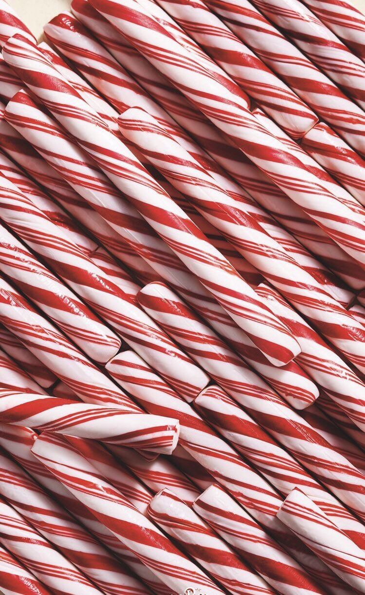 iPhone and Android Wallpapers Candy Kane Christmas