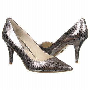 363e6a559a5d MICHAEL MICHAEL KORS MK Flex Mid Pump Shoes (Gunmetal Metallic) - Women s  Shoes -
