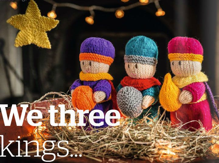 Free Amigurumi Nativity Pattern : Three kings toy knit pattern free pattern toy and knit patterns
