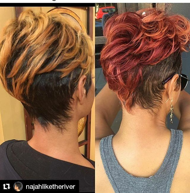 860 Likes 8 Comments Hair Salon Locator Afrohaircom On Instagram Style From Najahliketheriver Najah Natural Hair Styles Short Hair Styles Hair Styles