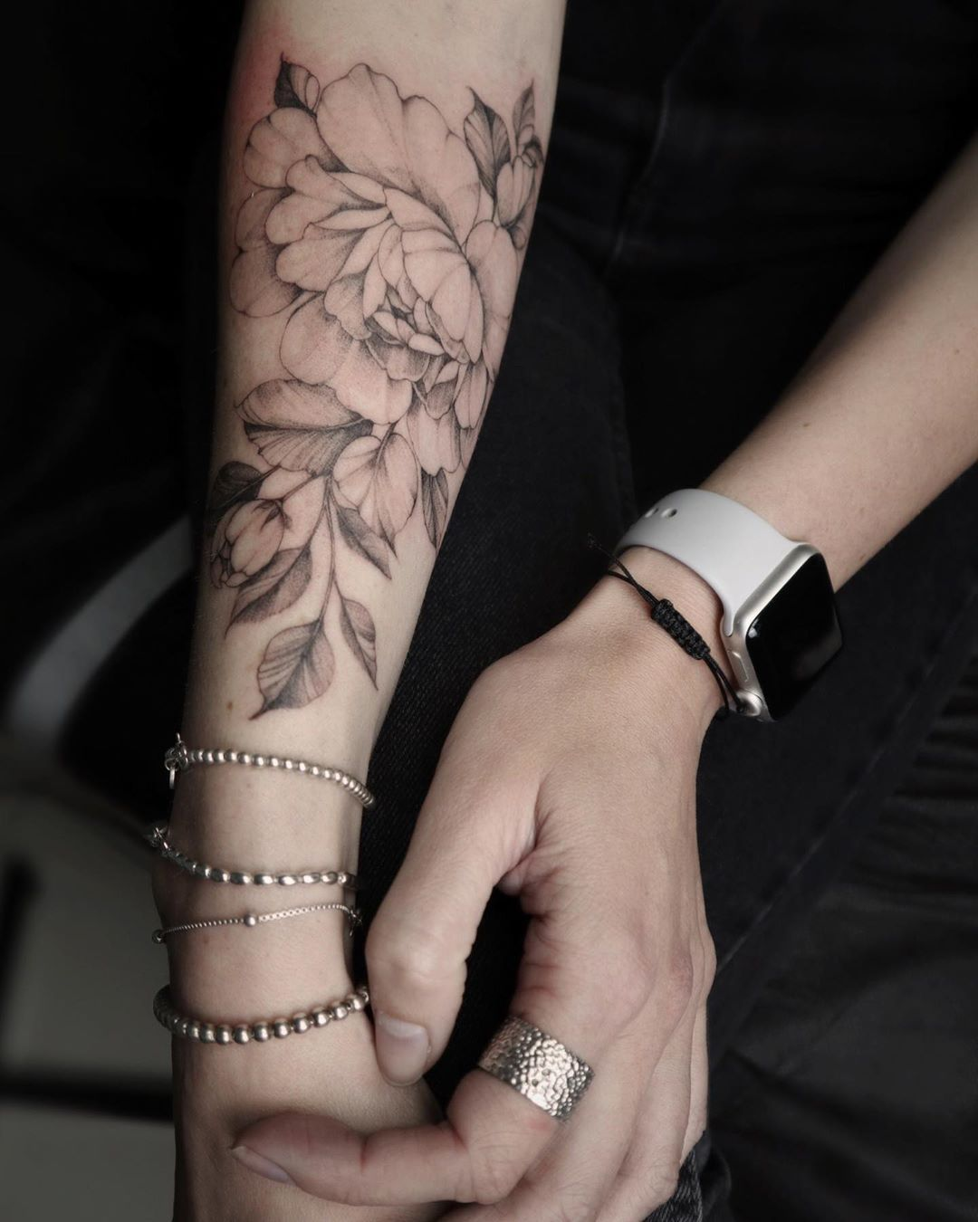 "unique ʋegan tattoos on Instagram ""Peones 🌸. How to be"