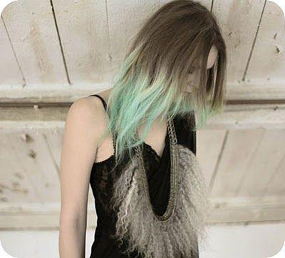 Lemmemakeit Turquoise Ends Summer Dip Dye Hair Dipped Hair Green Hair