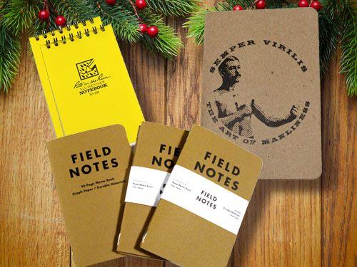 """Pocket notebooks, from """"50 Stocking Stuffer Ideas for Men"""""""