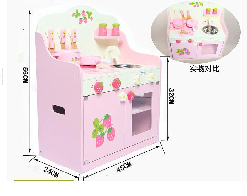 aliexpress: acheter cuisine en bois enfants bébé jouets cuire