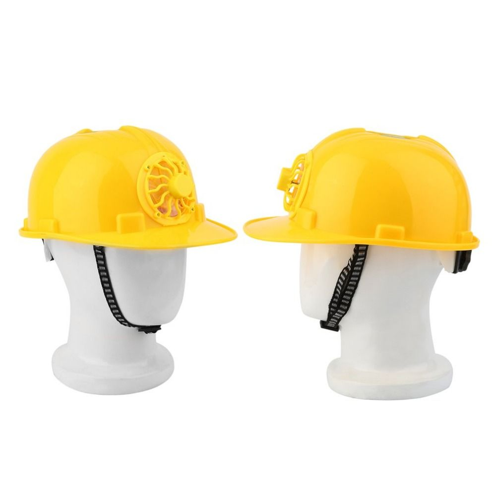 Solar Safety Helmet Outdoor Solar Energy Cooling Cool Fan Safety