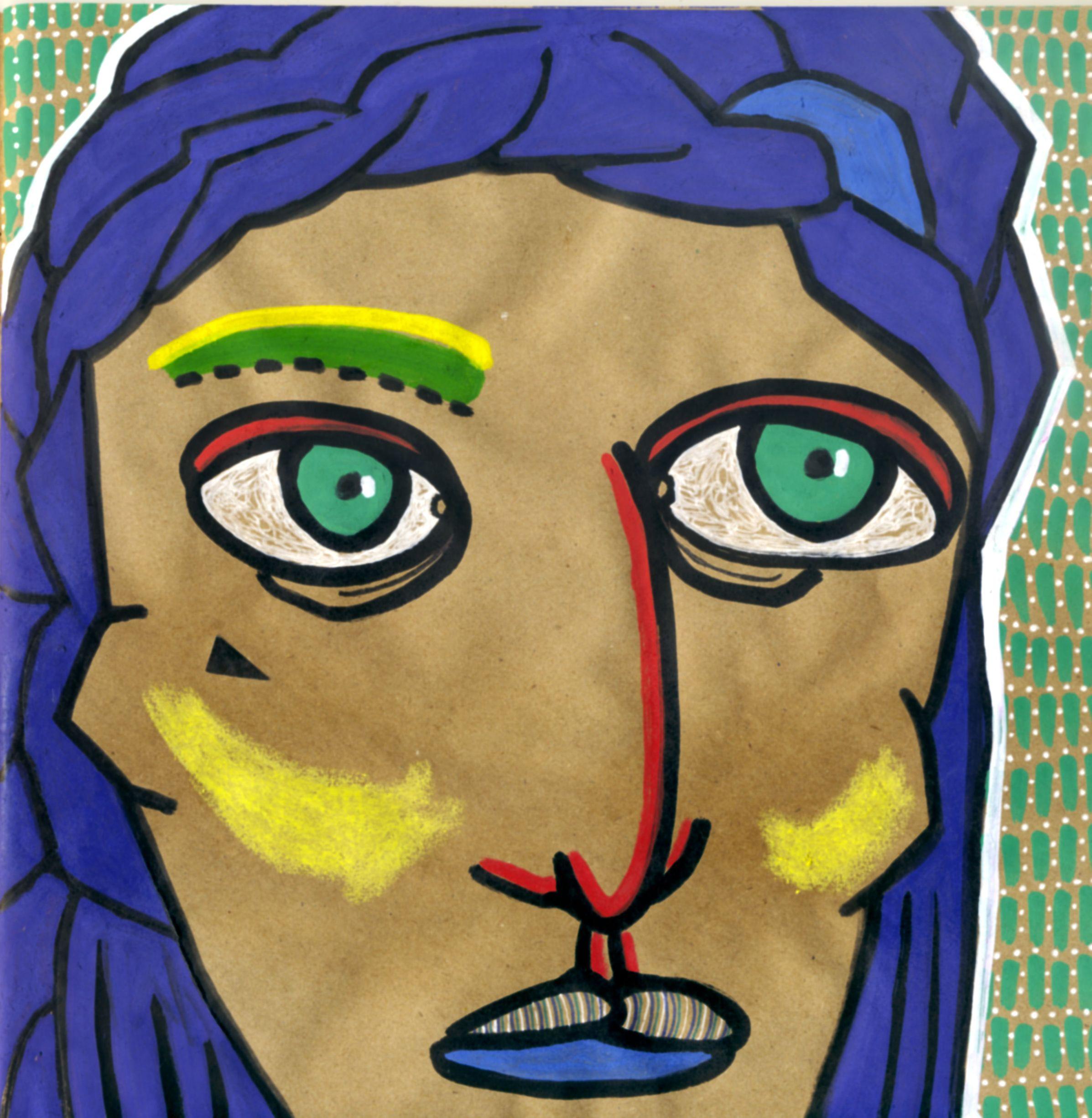 #illustration #katamariart #handdraw #graphics #girl #acrylic #acrylicmarkers #montana #montanamarkers #anyakatamari