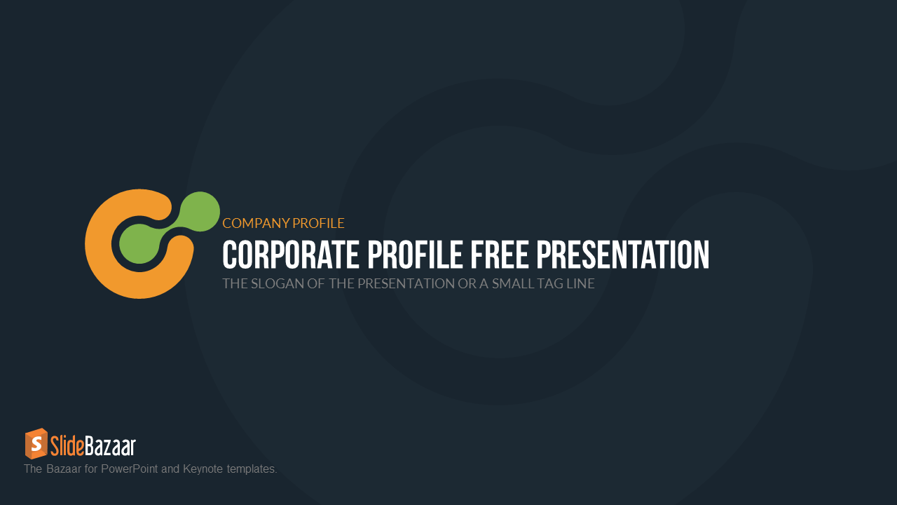 Company profile free powerpoint template slidebazaar free company profile free powerpoint template slidebazaar pronofoot35fo Image collections