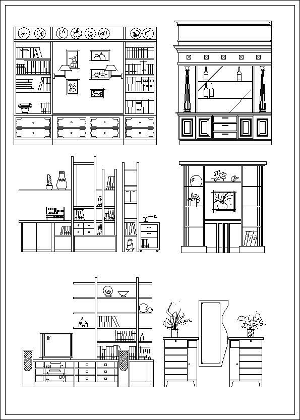 Furniture elevation  Sofa elevation Chair elevation Cabinet  elevation Appliances Library CAD. Furniture elevation  Sofa elevation Chair elevation Cabinet