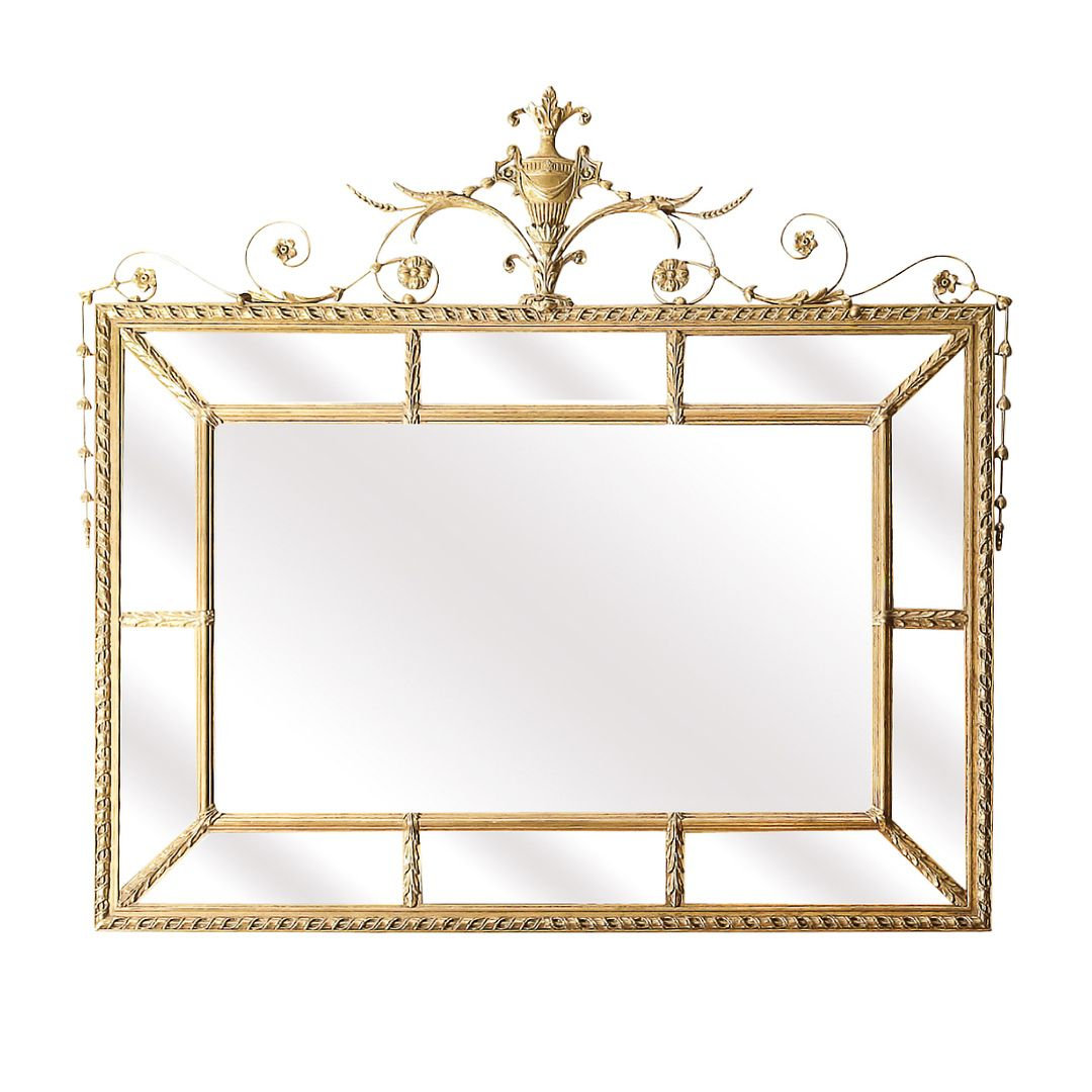 Italian Neo-Classical Style Mirror in the Manner of Robert Adam