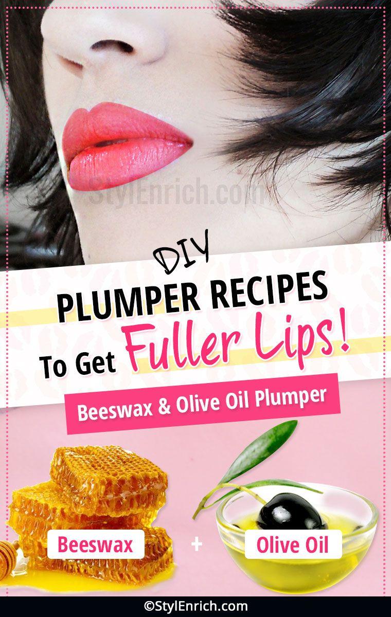 DIY Natural Lip Plumper Recipes To Get Fuller and
