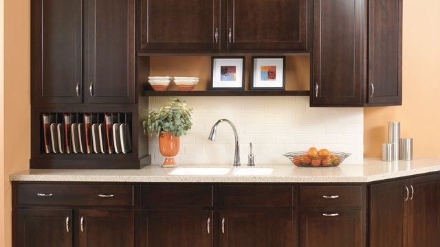 Secrest Birch In Twilight The Darkest Finish Available For Its Birch Cabinet Offerings These Are Exactly Our Birch Cabinets Quality Cabinets Kitchen Cabinets