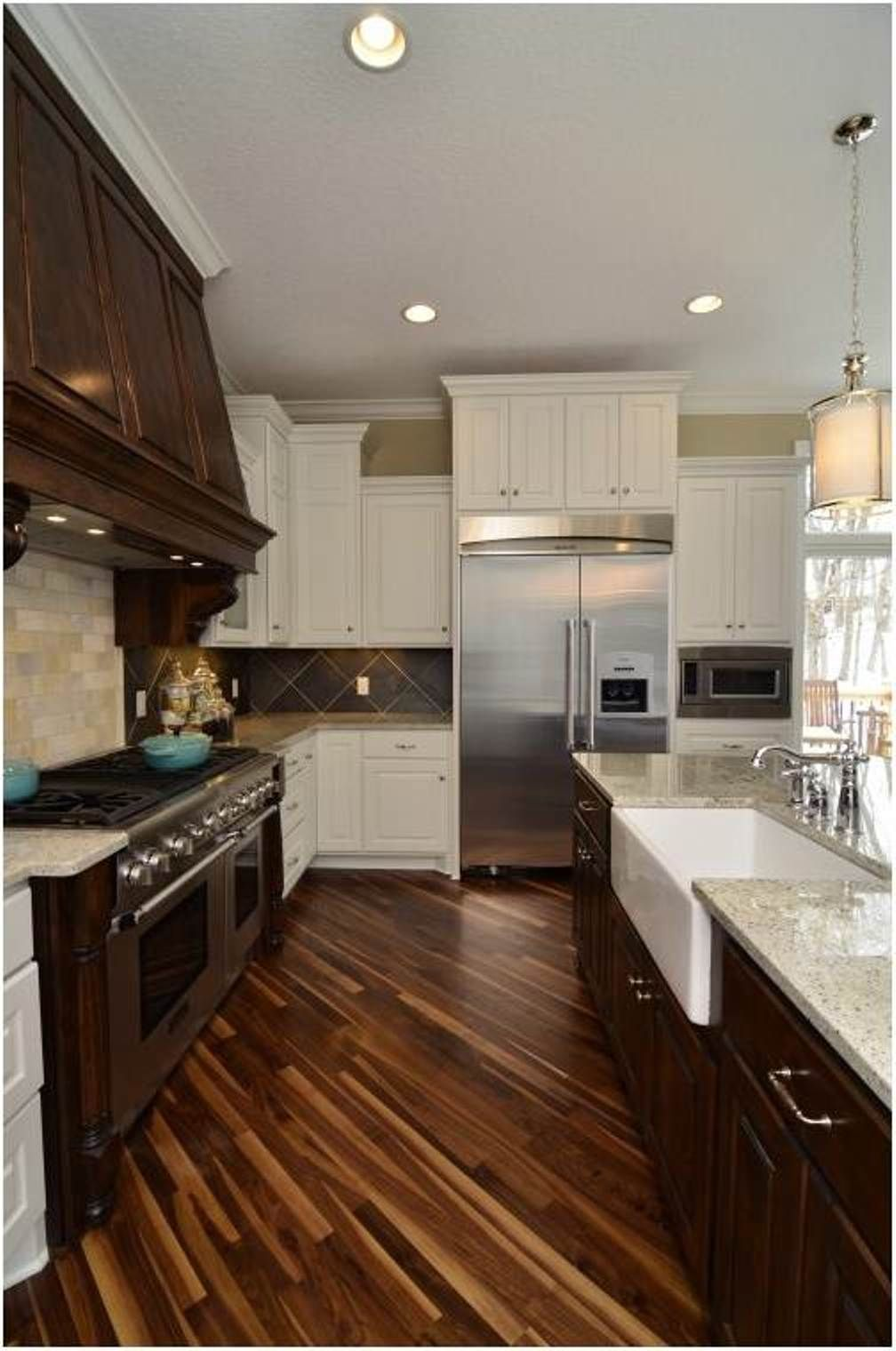 Different Types of Flooring for Kitchen Hardwood floors
