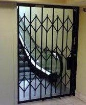 Hallway Security Door Gates