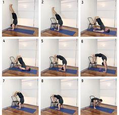 vrschikasana scorpion pose  iyengar yoga in 2020
