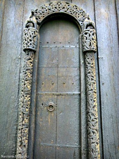 Stave Church Door Navianas Green World Norway Pinterest Doors