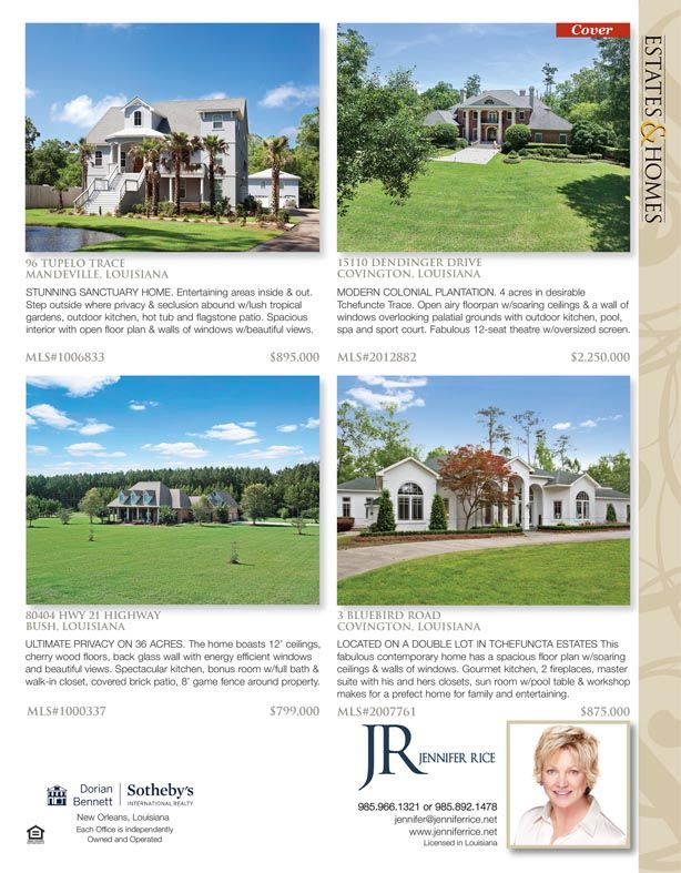 Jennifer Rice is the agents for these great listings featured in ...