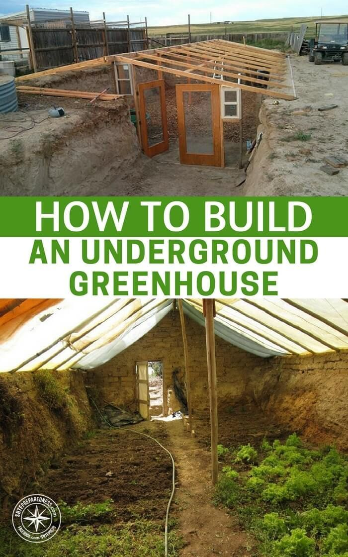 How To Build an Underground Greenhouse (Multiple Designs!) #wintergardening