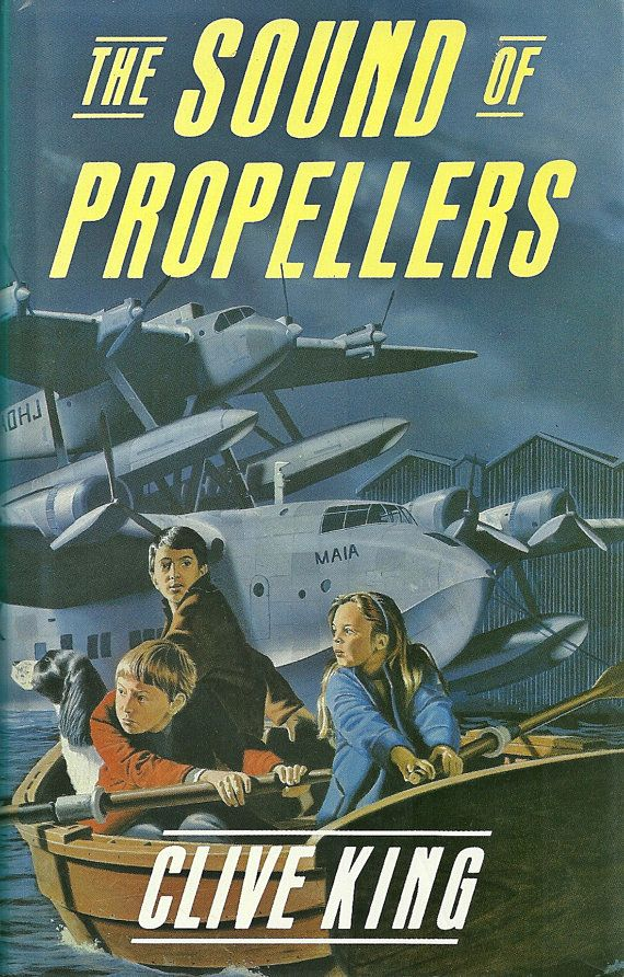 The Sound Of Propellers  Clive King  Author by redruthcollectables