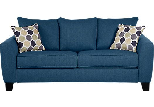 Picture Of Bonita Springs Blue Sofa From Sofas Furniture With