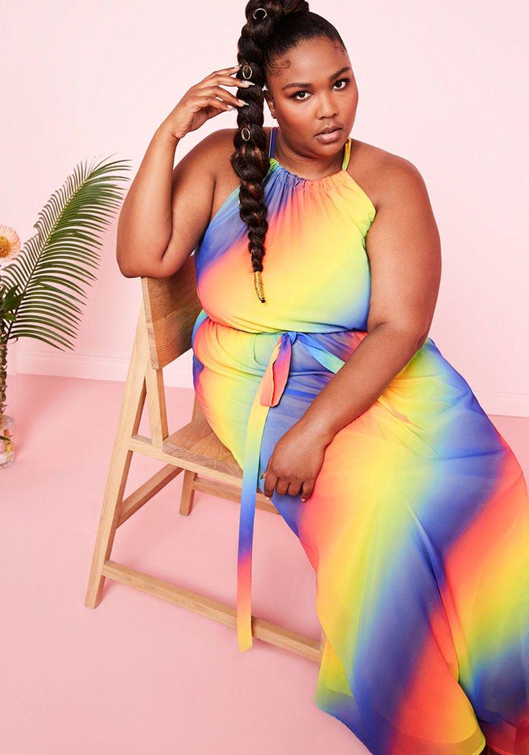 Illuminate Elegance Chiffon Maxi Dress In Rainbow Chiffon Maxi Dress Chiffon Maxi Maxi Dress [ 1097 x 768 Pixel ]