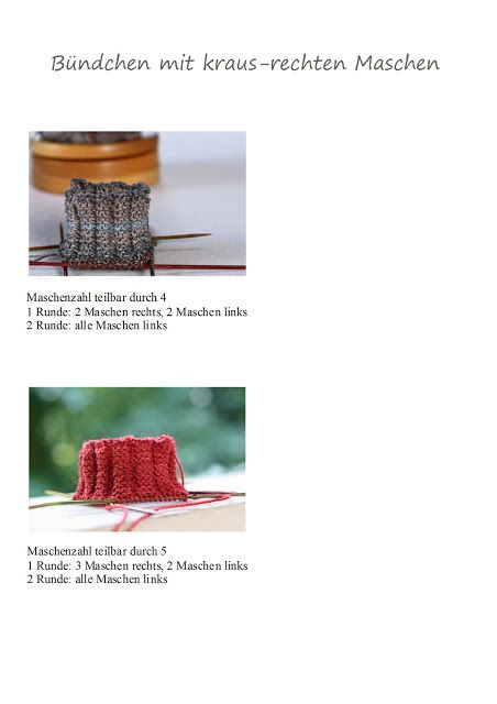Photo of Free time tailoring: cuff and sock patterns