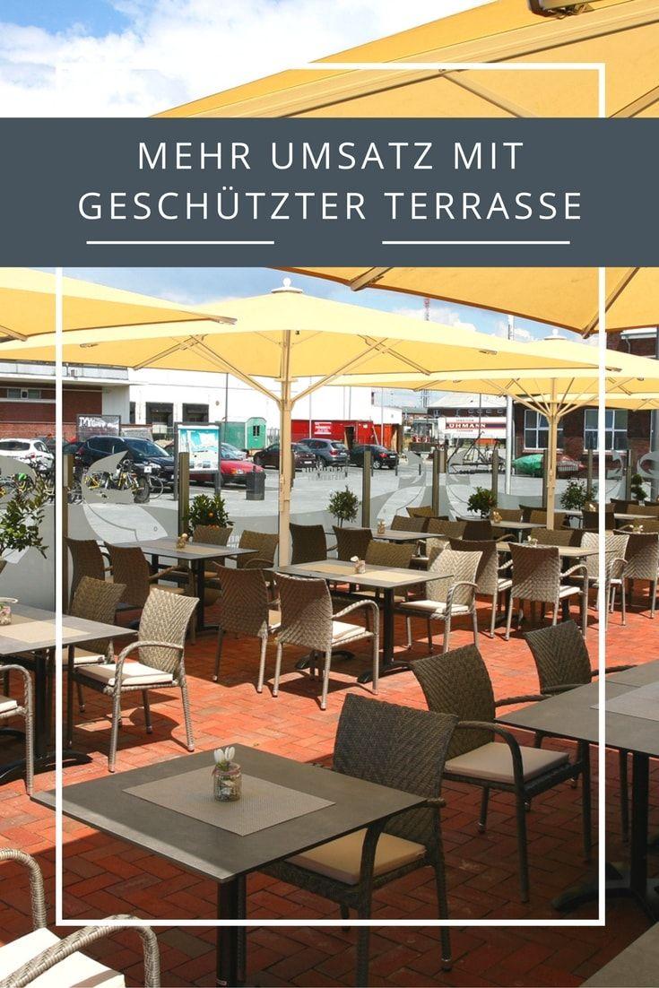 Mehr Umsatz In Der Gastronomie Mit Einer Geschützten Terrasse