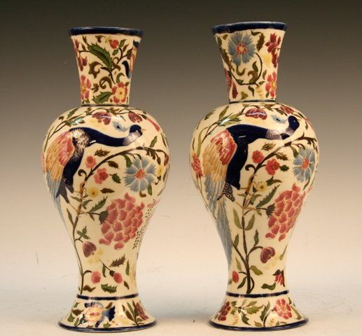 porc.Vilmos ZSOLNAY(1828 – 1900) ___The world famous Zsolnay porcelain factory is rich in tradition and history. Starting in 1853, the work of its owner, Miklós Zsolnay, made an early and lasting impression. His successor Vilmos Zsolnay received the golden medal at the 1878 Paris World Fair Αναζήτηση Google