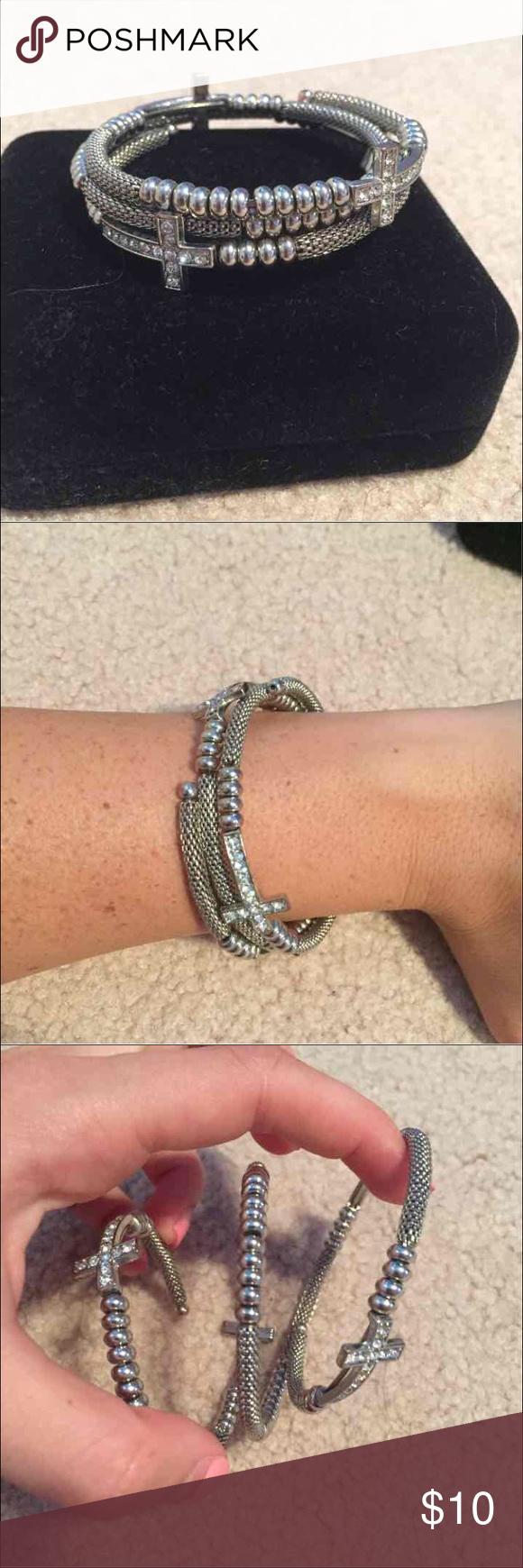 Cross bangle bracelet bangle flaws and jewelry bracelets