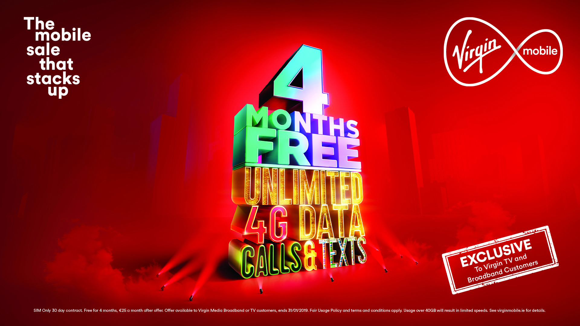 Ahead of the festive season, Virgin Mobile is launching new mobile offers  including an unlimited mobile offer for 4 months absolutely FREE.