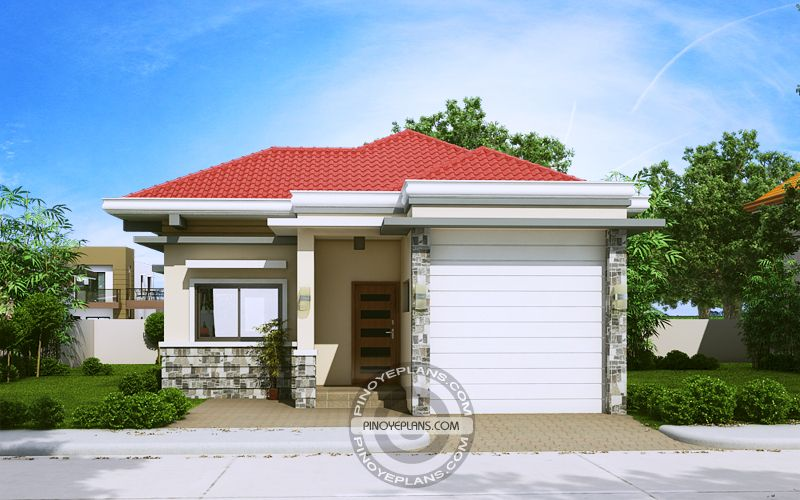 Pia, Confidently Beautiful 2 Bedroom House Plan | Bungalow ...