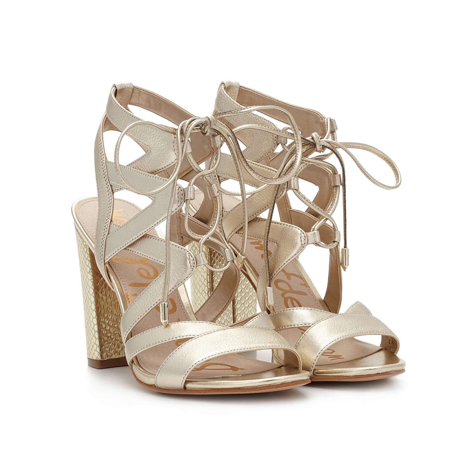 084d15094 Yardley Lace-Up Heeled Sandal by Sam Edelman - - View 1