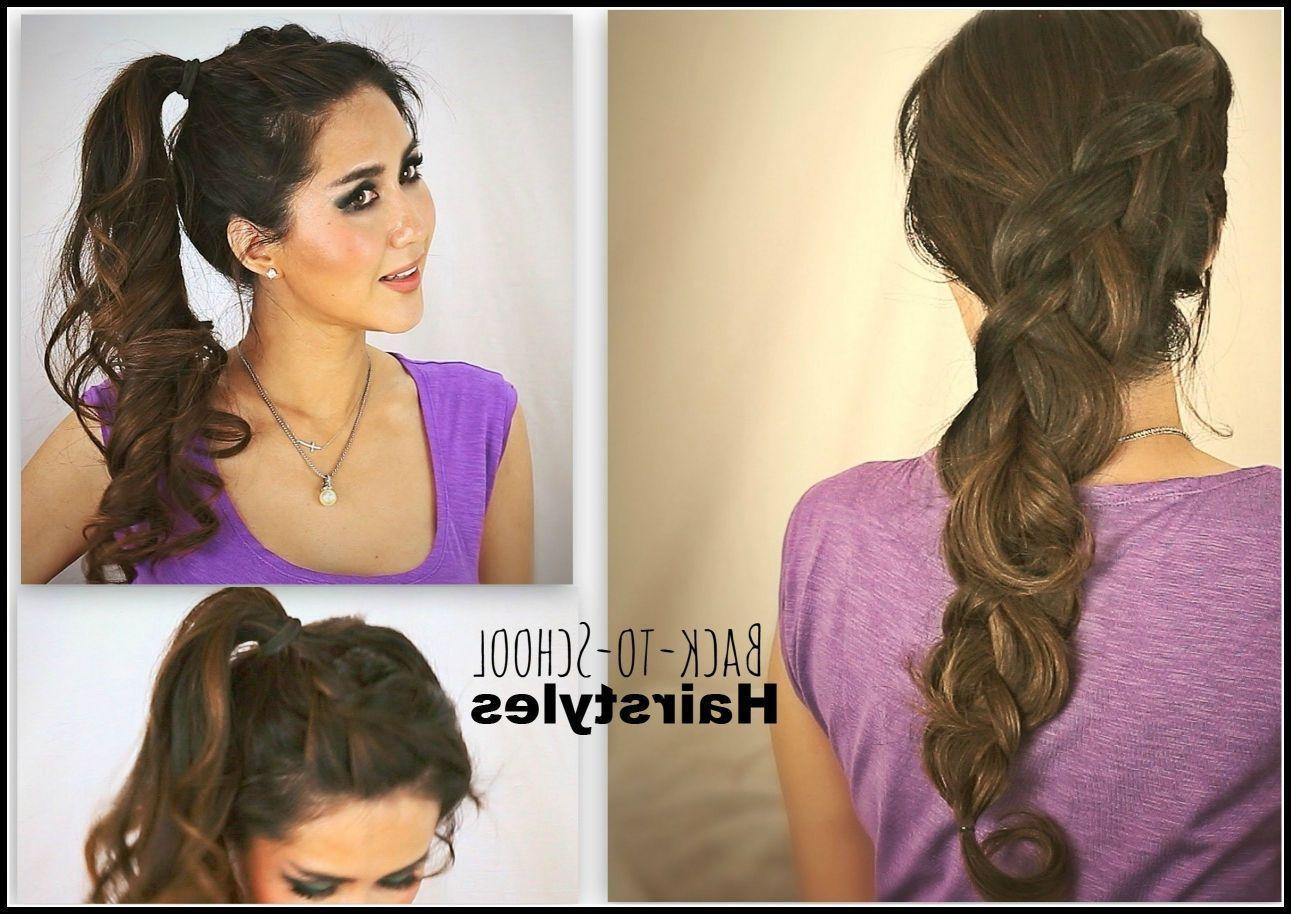Medium Tutorial Frisuren Für Mittellanges Haar Tutorial Frisuren