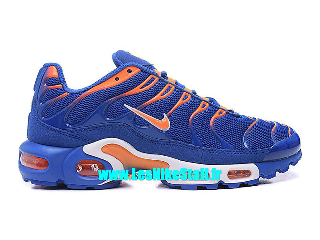 online store 3cfd7 e446e Officiel Nike Air Max Tn Requin Tuned 2016 Chaussures Nike Basketball Pas  Cher Pour Homme Orange Bleu 604133-801