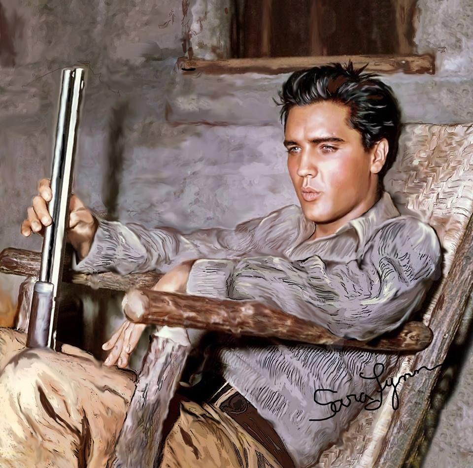 1000+ images about Elvis art on Pinterest  |1977 Elvis Painting
