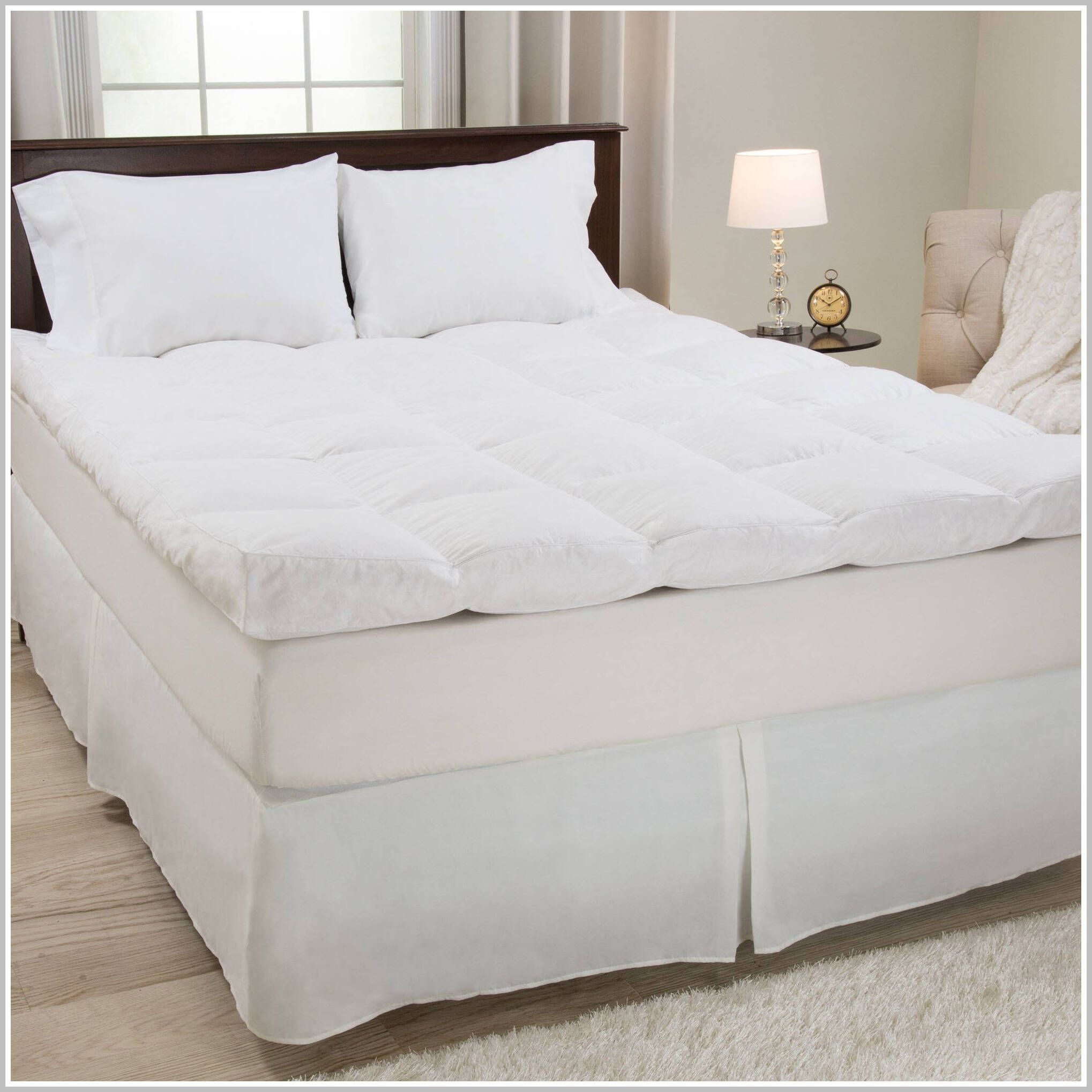 79 Reference Of Mattress Topper Vs Featherbed In 2020 Lavish Home Mattress Best Mattress