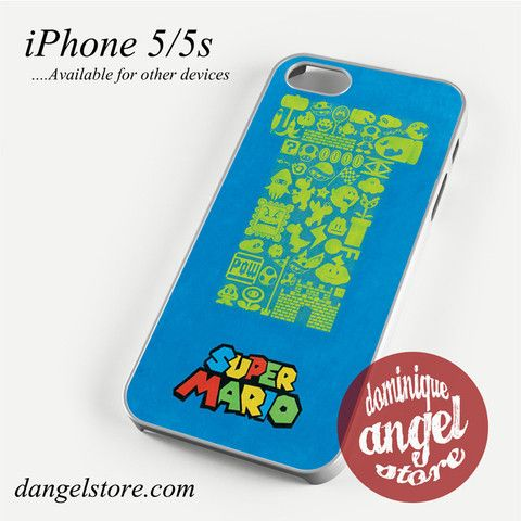 Super Mario Phone case for iPhone 4/4s/5/5c/5s/6/6 plus